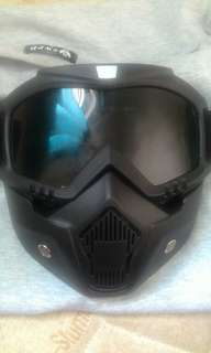 Motorcycle mask