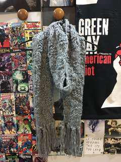Thick Grey Scarf