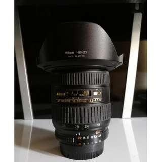 Nikon fx lens 18-35mm full frame wide lens