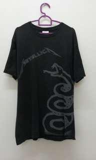 Metallica Black Album band shirt