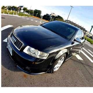 『上嘉汽車』2004年 AUDI-A4 1.8T-黑-直列4缸渦輪增壓