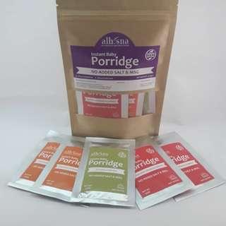 Alhusna Instant Baby Porridge Mixed Pack