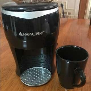 Hanabishi single-serve coffee maker