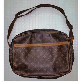 Louis Vuitton Reporter PM Monogram Shoulder Bag (Authentic)