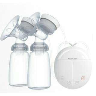 Real Bubee Double USB Electric Breast Pump