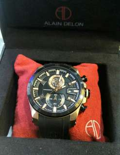 Alain Delon chronograph authentic