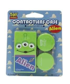 日本直送 SHO-BI 日本製 Toy Story 反斗奇兵 Alien / The Little Green Man 三眼仔隱形眼鏡盒 Contact Lens Case