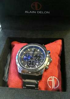 Alain Delon chronograph authentic