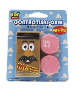 日本直送 SHO-BI 日本製 Toy Story 反斗奇兵  Mr. Potato Head 薯蛋頭先生隱形眼鏡盒 Contact Lens Case