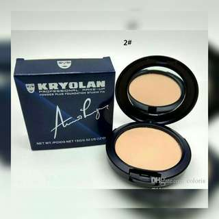 💌FREE Normal Mail【INSTOCKS】KRYOLAN POWDER PLUS FOUNDATION STUDIO FIX 2IN1 AUTHENTIC - $20.00 • Shade: No. 2 • NO Meet-Up • NO Self-collection                                                          • Authentic Product  • #BEBeautiqueSG