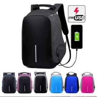 Multifunction Anti-Thief USB Charging Laptop Premium Bag (LARGE/BIG)
