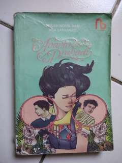 Buku Novel Ananta Prahadi