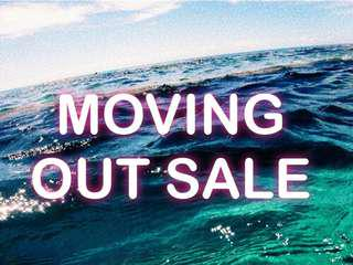 MOVING OUT SALE!!!