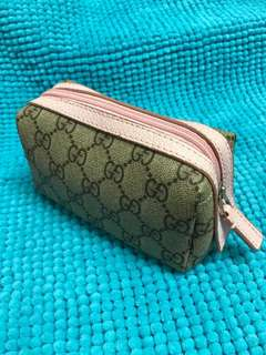 Gucci 化妝袋 100% New! Cosmetic Bag!(另外:1 Free Gift to you, pls see below🎁)