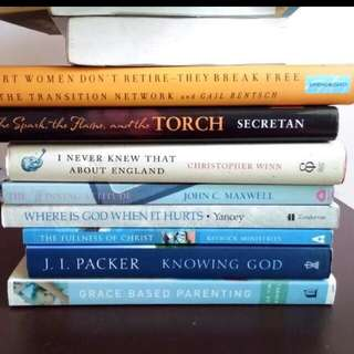 New Books : Grace Based Parenting  Smart Women Dont Retire Knowing God Things I Dont Know About England Fullness Of Christ Winning Attitude Spark Of The Light Torch
