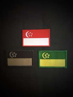National Flag ILBV Velcro patch