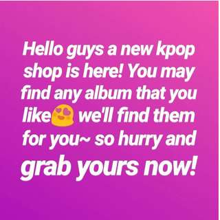 New KPOP shop ^^