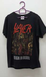 Slayer Reign In Blood band shirt