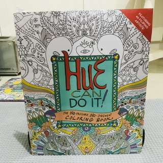 Coloring Book: Hue Can Do It!