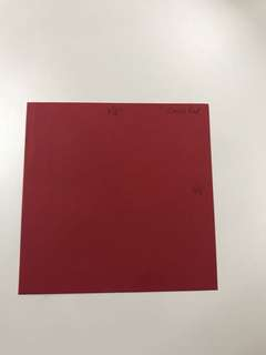 Cerise Red Ready Made Square Envelopes