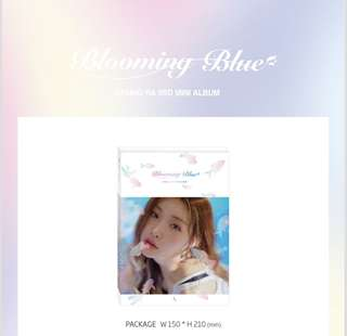 SEALED CHUNGHA BLOOMING BLUE