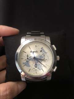 Agnis b ladies chronograph watch