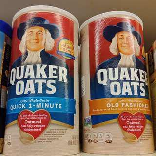 Quaker Oats tub 1.19kg