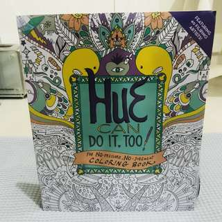 Coloring Book: Hue Can Do It Too!