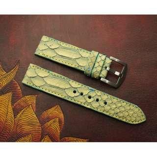🚚 Panerai watch band / strap  Python leather, Panerai watch band / strap 24mm, Panerai watch band / strap 22mm, Panerai watch band / strap custom