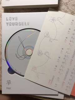 BTS LOVE YOURSELF 承 'O'