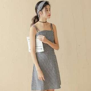 #70fashion Checkered dress