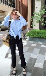 我的巴黎小衣櫥 想要想要系列 &other stories斷貨款浪漫襯衫 藍色36號 US4 #女裝半價拉