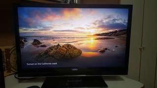 "32"" Sony Vizio LED tv"