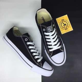 Sepatu Converse Chuck Taylor CT All Star OX Classic Black White BNIB