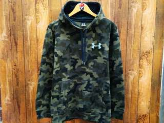 sweater hoodie camo under armour