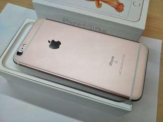 Iphone6s plus 64gb玫瑰金