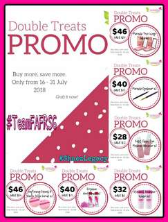 🚚 Nurraysa Double Treats Promo 🎉🎉🎉