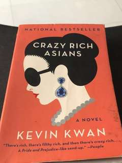 Crazy Rich Asian by Kevin Kwan