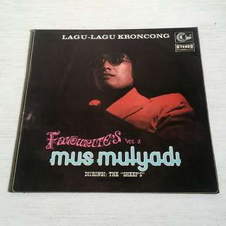 """Mus Mulyadi """"Lagu Lagu Keroncong"""" LP"""