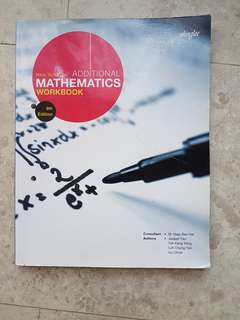 Additional Mathematics Workbook