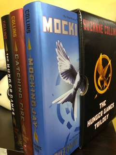 Brand New Hunger Games Trilogy Set