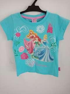 Disney princess tshirt for 6yrs