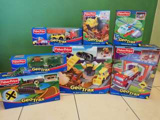 Fisher Price Geo Trax Toys
