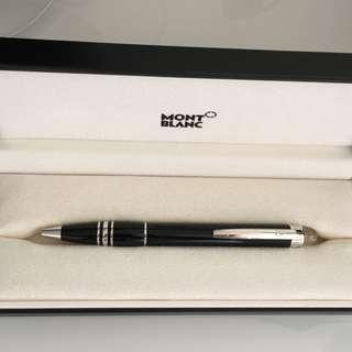 Montblanc Ball Pen 100% Genuine 萬寶龍星際行者系列鍍鉑金樹脂鉛芯筆 [正品]