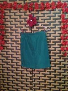 Green skirt uniform
