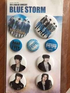 2011 CNBLUE concert Blue Storm 周邊襟章