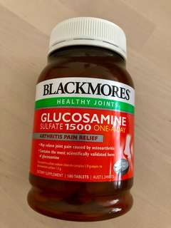 Blackmores glucosamine 葡萄糖胺 1500 180粒