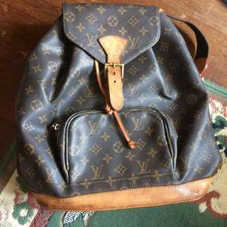 Louis Vuitton Montsouri Backpack FREE SHIPPING for 1300