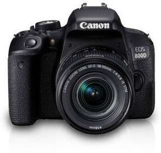 Canon EOS800D with 18-55mm Lens DSLR Camera