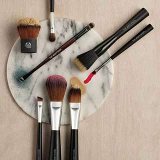 The Body Shop The Ultimate Brush Collection 4pcs (lightly used)
